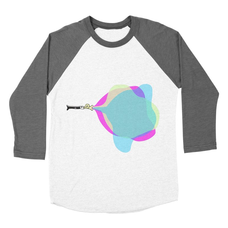 Tune Fish Men's Baseball Triblend T-Shirt by julianepieper's Artist Shop