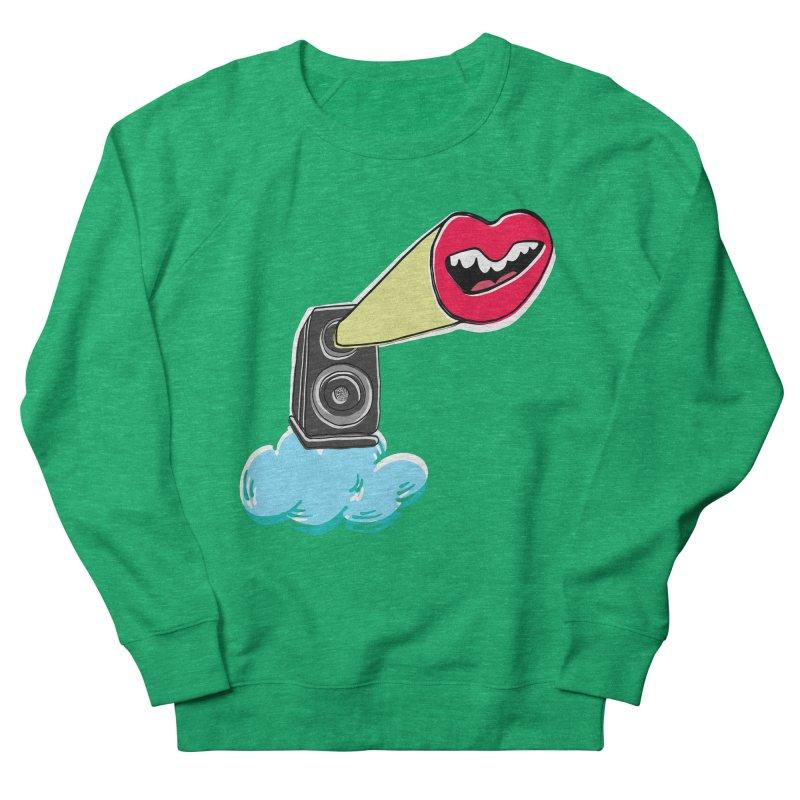 Speak Up Speaker Men's Sweatshirt by julianepieper's Artist Shop