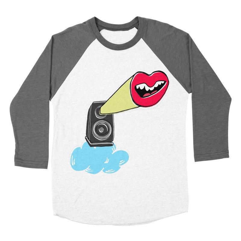 Speak Up Speaker Men's Baseball Triblend T-Shirt by julianepieper's Artist Shop