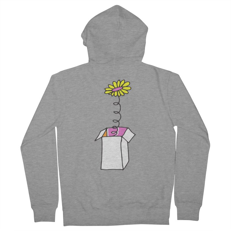 Flowerbox Women's Zip-Up Hoody by julianepieper's Artist Shop