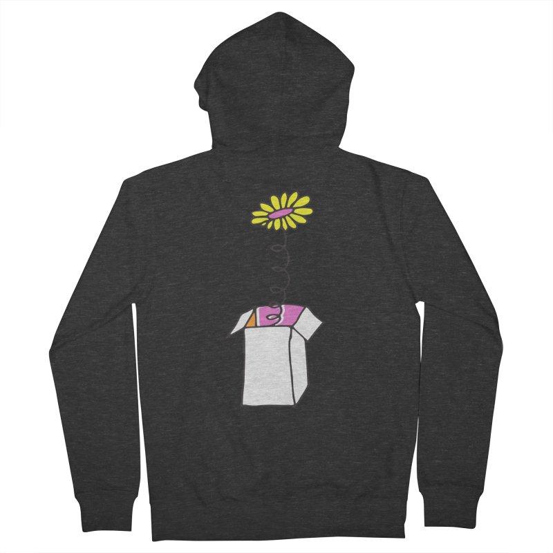 Flowerbox Men's Zip-Up Hoody by julianepieper's Artist Shop