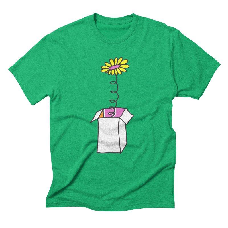 Flowerbox Men's Triblend T-shirt by julianepieper's Artist Shop
