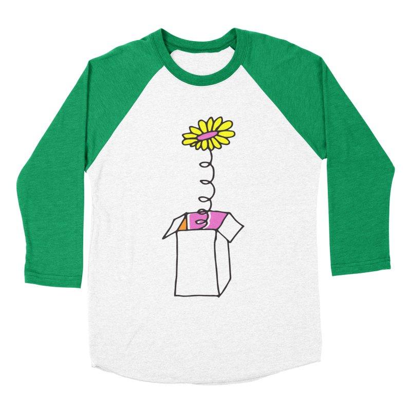 Flowerbox Women's Baseball Triblend T-Shirt by julianepieper's Artist Shop