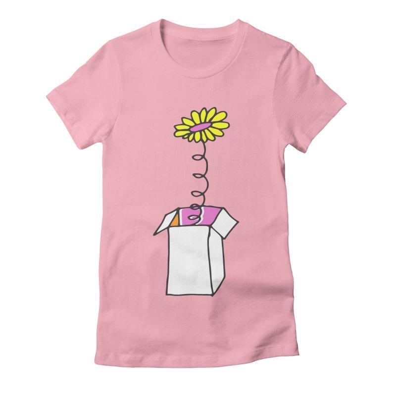 Flowerbox Women's Fitted T-Shirt by julianepieper's Artist Shop