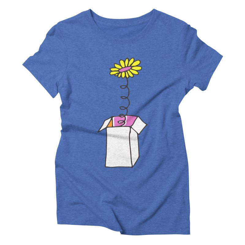 Flowerbox Women's Triblend T-Shirt by julianepieper's Artist Shop