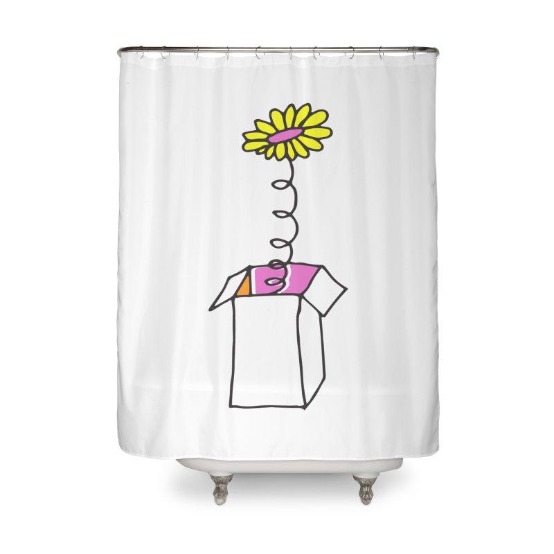 Flowerbox Home Shower Curtain by julianepieper's Artist Shop