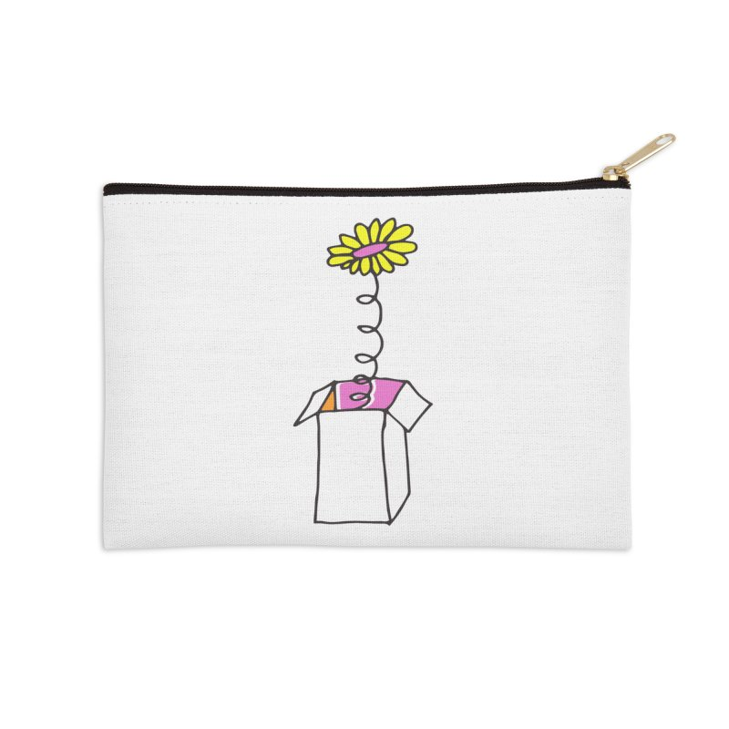 Flowerbox Accessories Zip Pouch by julianepieper's Artist Shop