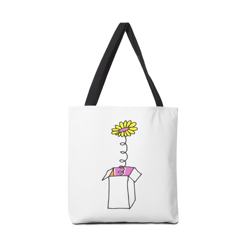 Flowerbox Accessories Bag by julianepieper's Artist Shop