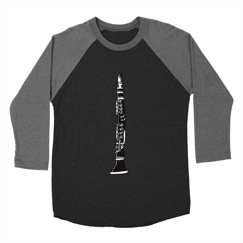 Clarinet Men's Baseball Triblend T-Shirt by julianepieper's Artist Shop