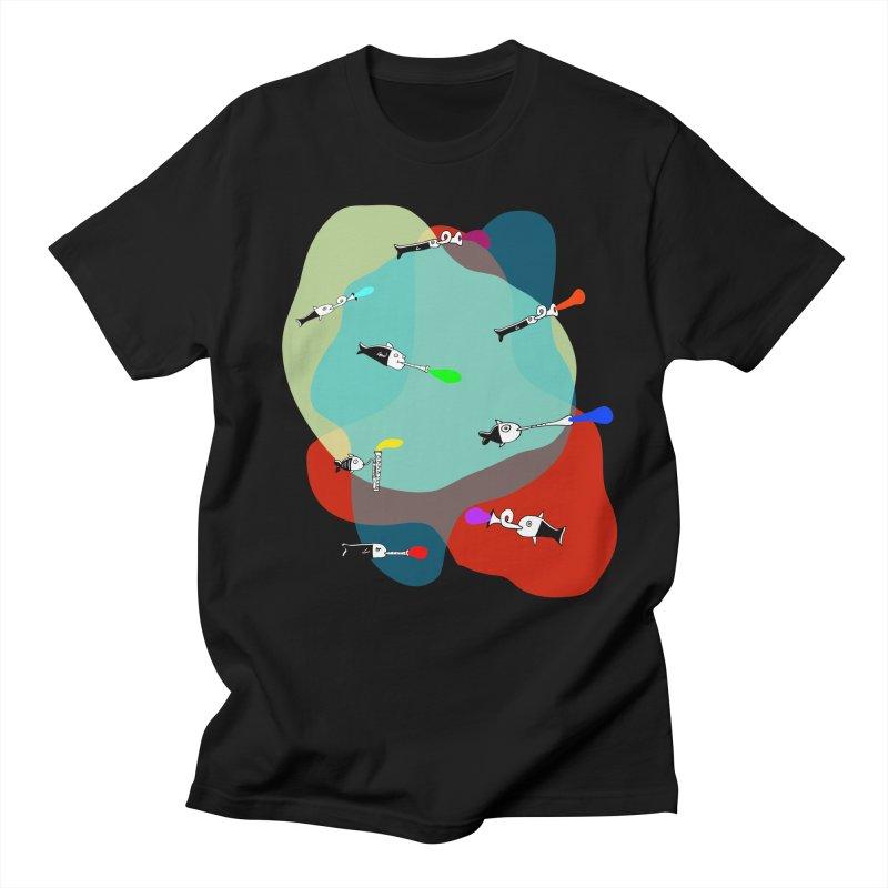 Underwater Orchestra Men's T-Shirt by julianepieper's Artist Shop
