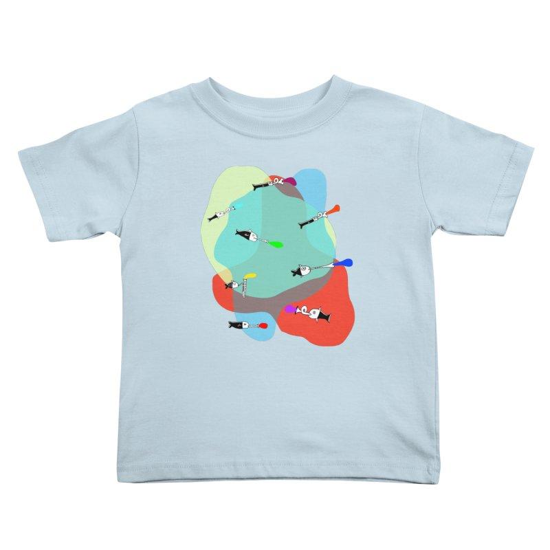 Underwater Orchestra Kids Toddler T-Shirt by julianepieper's Artist Shop