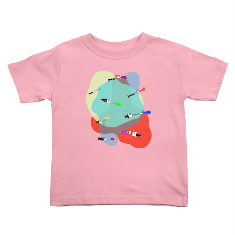 Underwater Orchestra Kids Toddler T-Shirt by julianepieper's Artist Shop