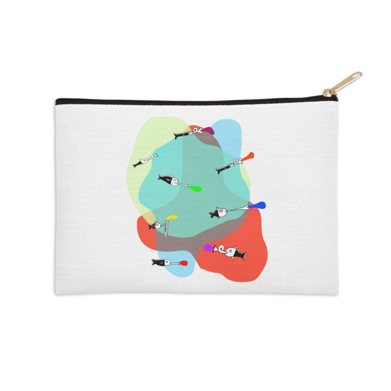 Underwater Orchestra Accessories Zip Pouch by julianepieper's Artist Shop