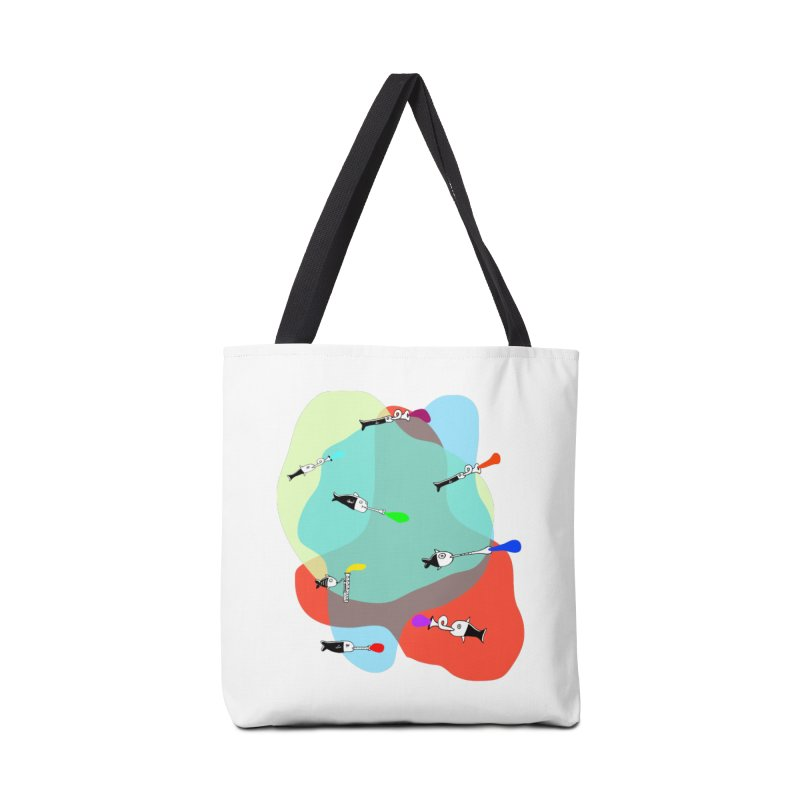 Underwater Orchestra Accessories Bag by julianepieper's Artist Shop