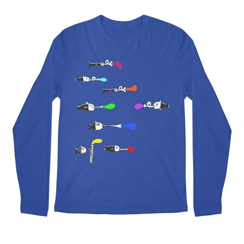 Water Music Men's Longsleeve T-Shirt by julianepieper's Artist Shop