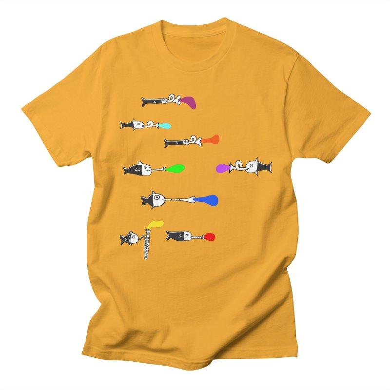 Water Music Men's T-Shirt by julianepieper's Artist Shop