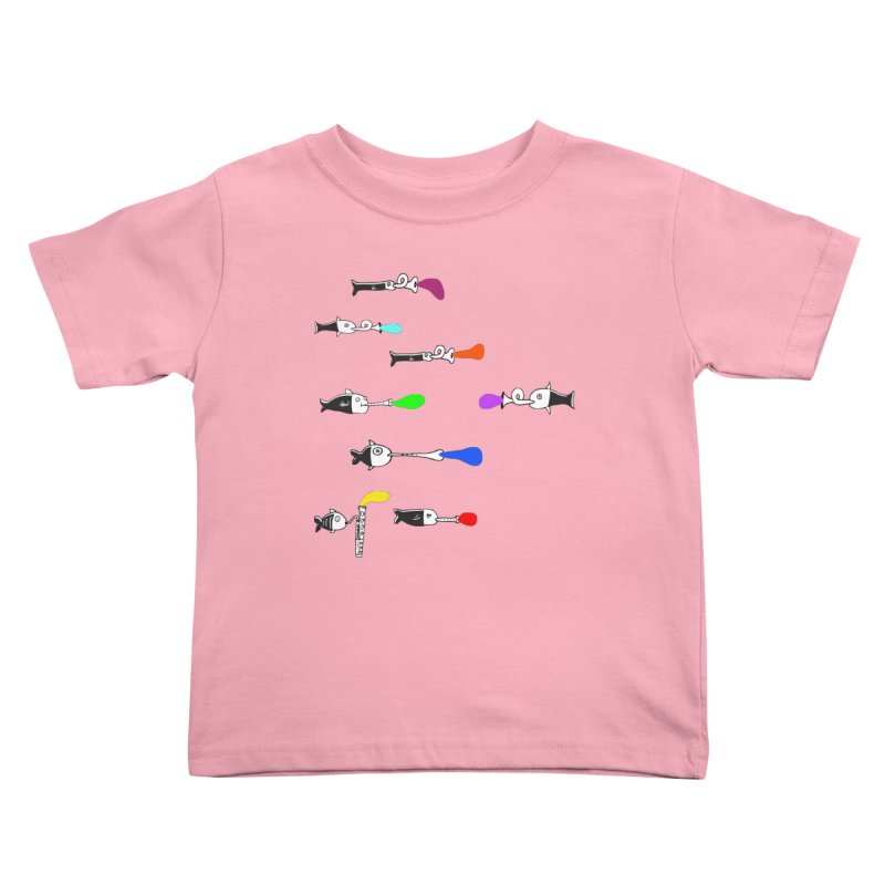 Water Music Kids Toddler T-Shirt by julianepieper's Artist Shop