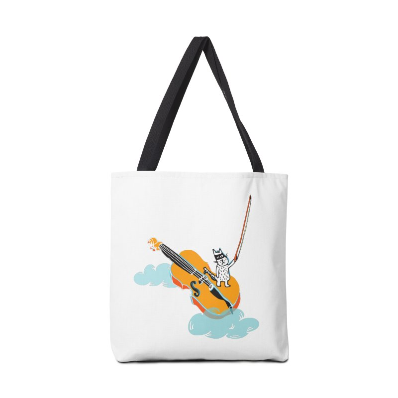 Violin Cat Accessories Bag by julianepieper's Artist Shop