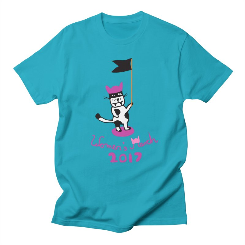 Women's March 2017 Women's Unisex T-Shirt by julianepieper's Artist Shop