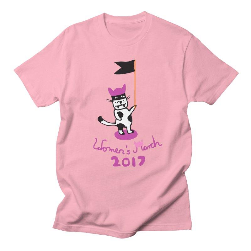 Women's March 2017 Men's T-shirt by julianepieper's Artist Shop