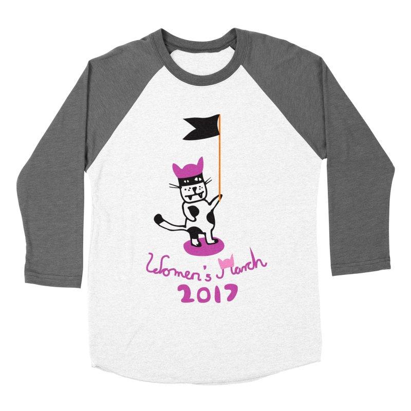 Women's March 2017 Women's Baseball Triblend T-Shirt by julianepieper's Artist Shop
