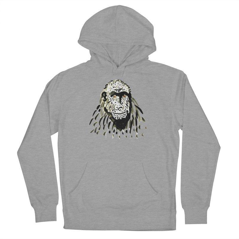 Gorilla Women's Pullover Hoody by julianepieper's Artist Shop