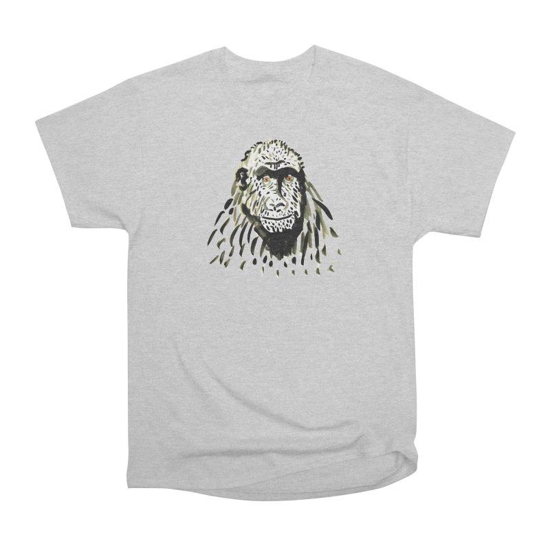 Gorilla Men's Heavyweight T-Shirt by julianepieper's Artist Shop