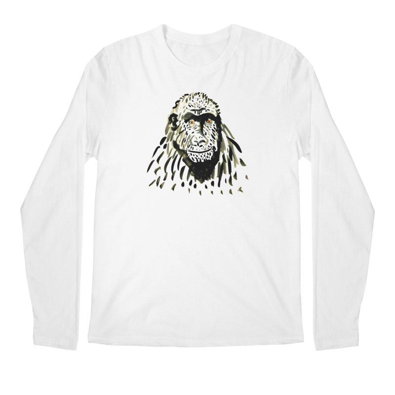 Gorilla Men's Longsleeve T-Shirt by julianepieper's Artist Shop