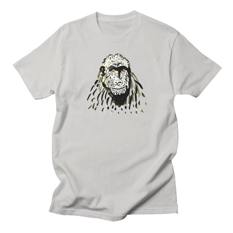 Gorilla Men's T-Shirt by julianepieper's Artist Shop