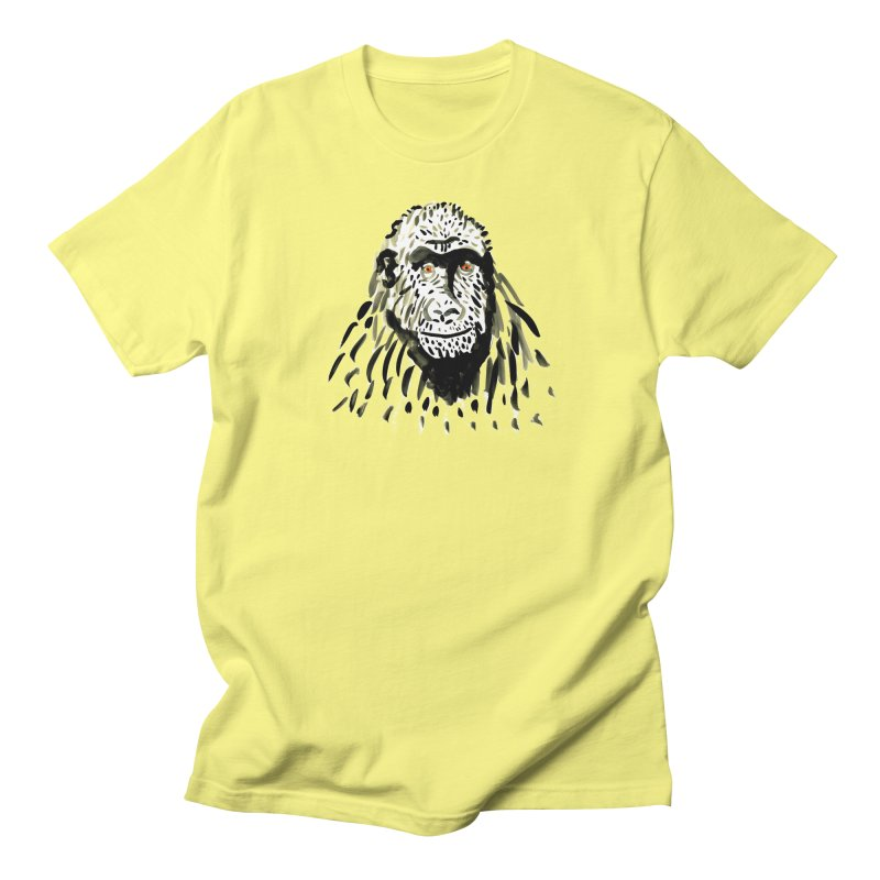 Gorilla Women's Unisex T-Shirt by julianepieper's Artist Shop