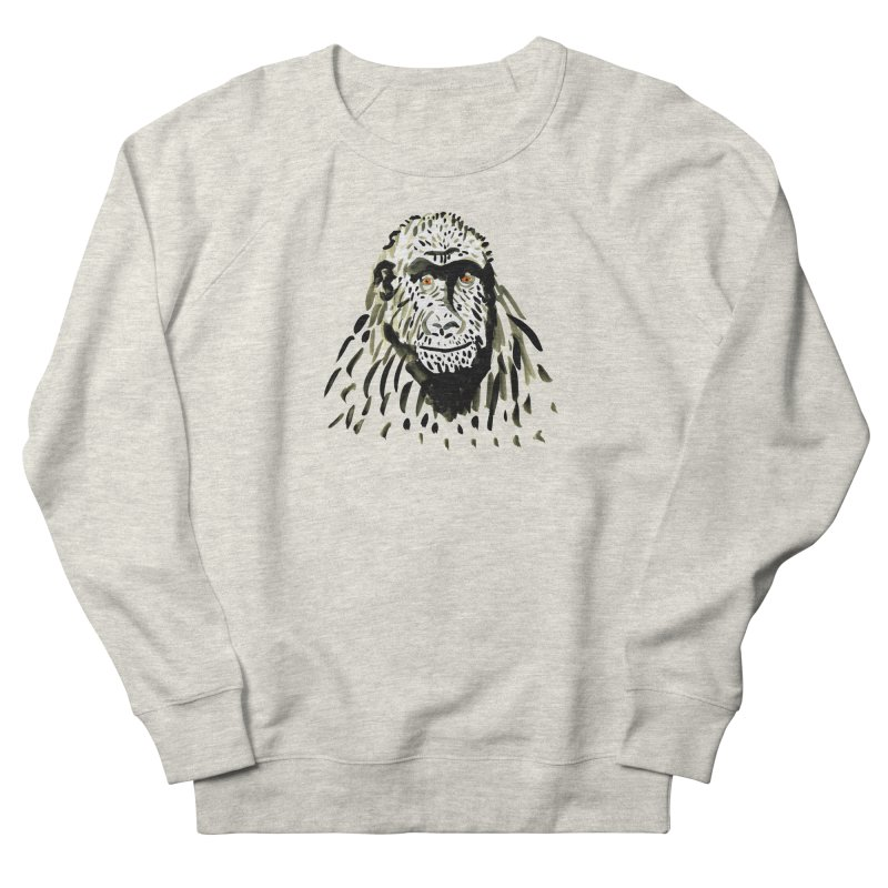 Gorilla Women's Sweatshirt by julianepieper's Artist Shop