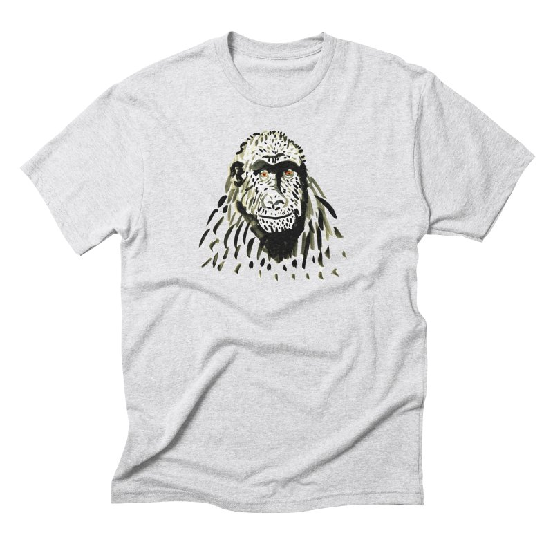 Gorilla Men's Triblend T-Shirt by julianepieper's Artist Shop