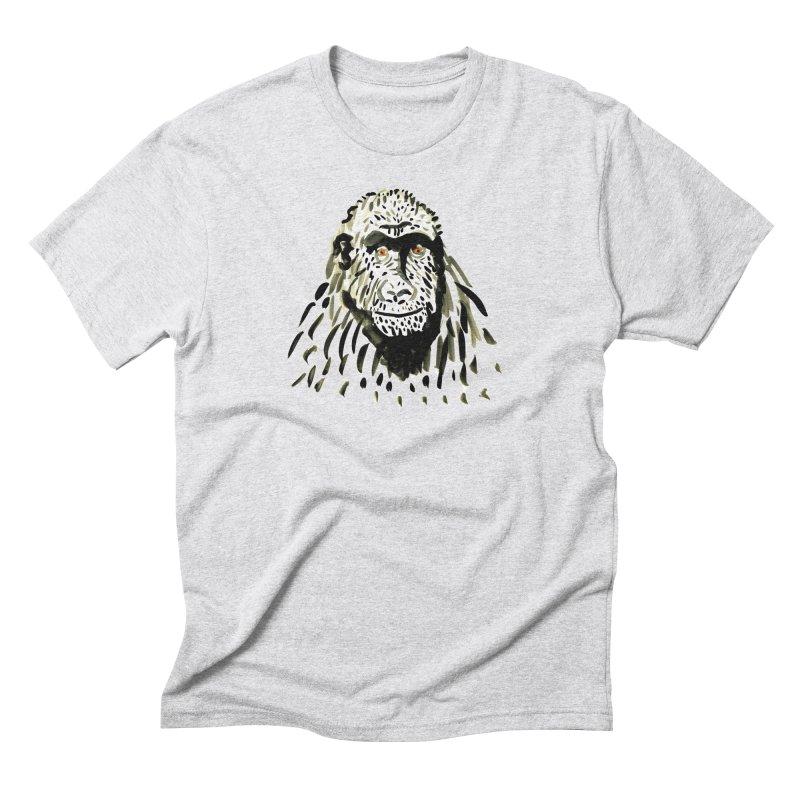 Gorilla Men's Triblend T-shirt by julianepieper's Artist Shop