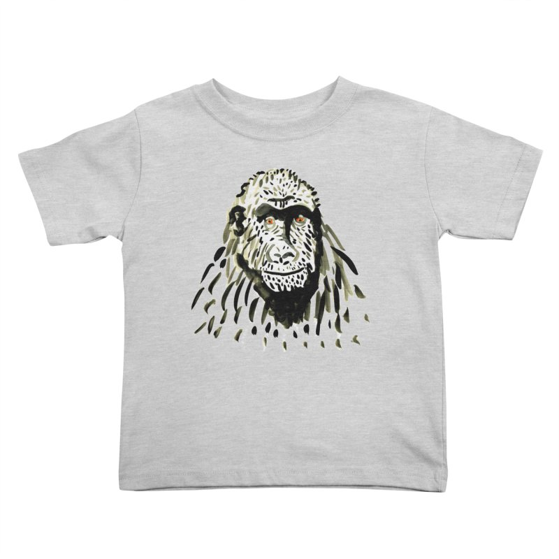 Gorilla Kids Toddler T-Shirt by julianepieper's Artist Shop