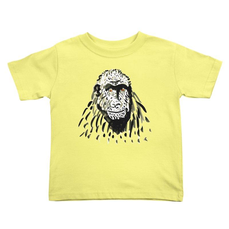 Gorilla Kids Toddler T-Shirt by julianepieper's Artist Shop