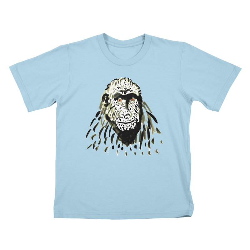 Gorilla Kids T-Shirt by julianepieper's Artist Shop