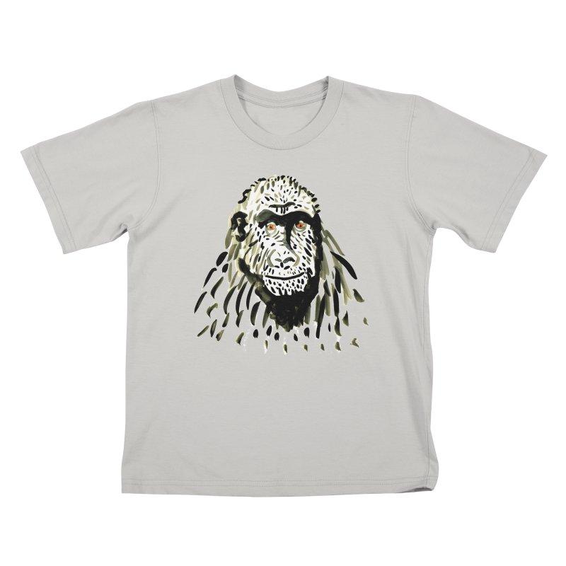 Gorilla Kids T-shirt by julianepieper's Artist Shop
