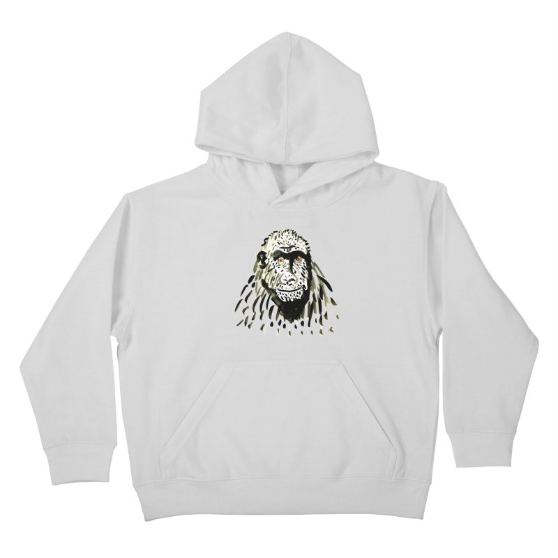 Gorilla Kids Pullover Hoody by julianepieper's Artist Shop