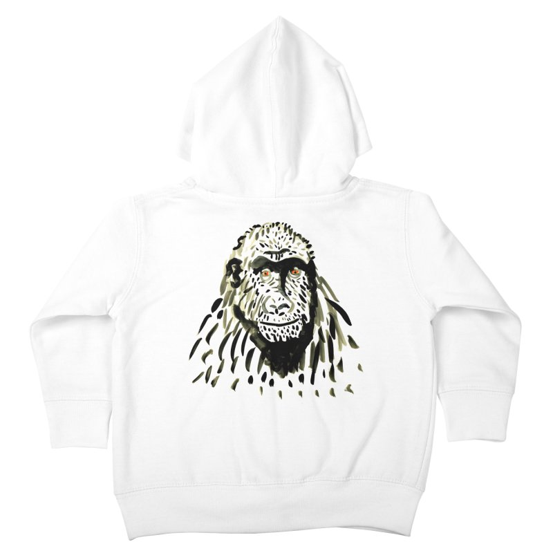Gorilla Kids Toddler Zip-Up Hoody by julianepieper's Artist Shop