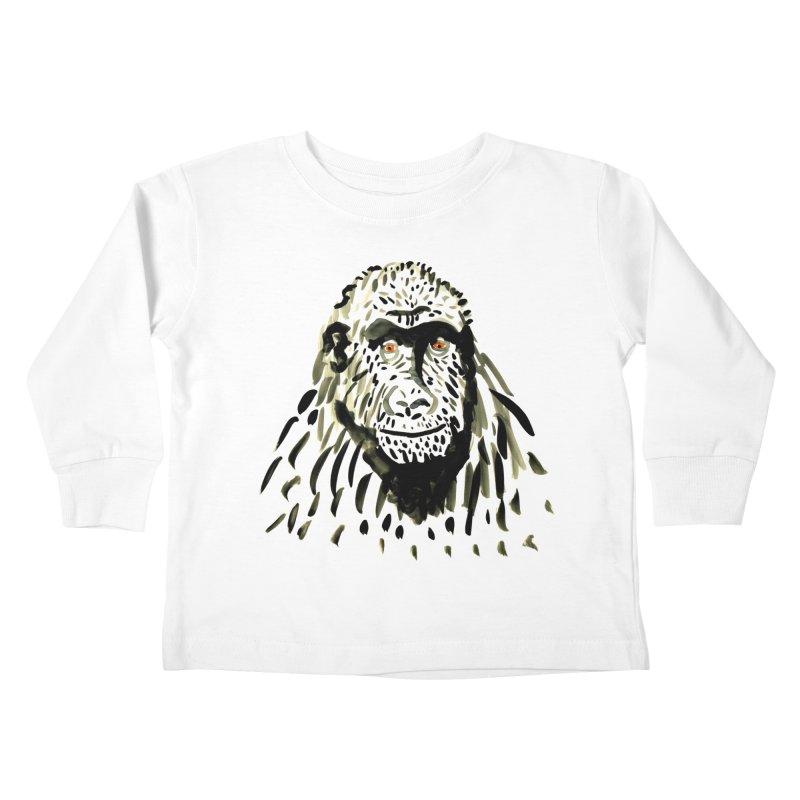 Gorilla Kids Toddler Longsleeve T-Shirt by julianepieper's Artist Shop