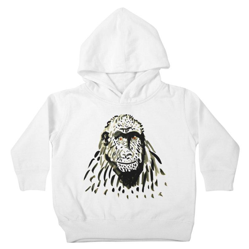 Gorilla Kids Toddler Pullover Hoody by julianepieper's Artist Shop
