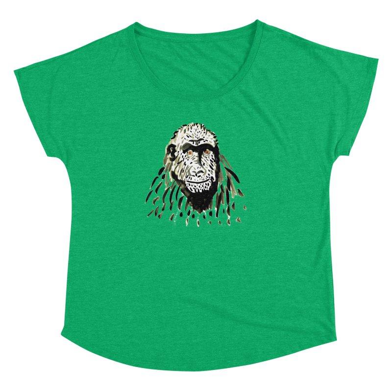 Gorilla Women's Dolman by julianepieper's Artist Shop
