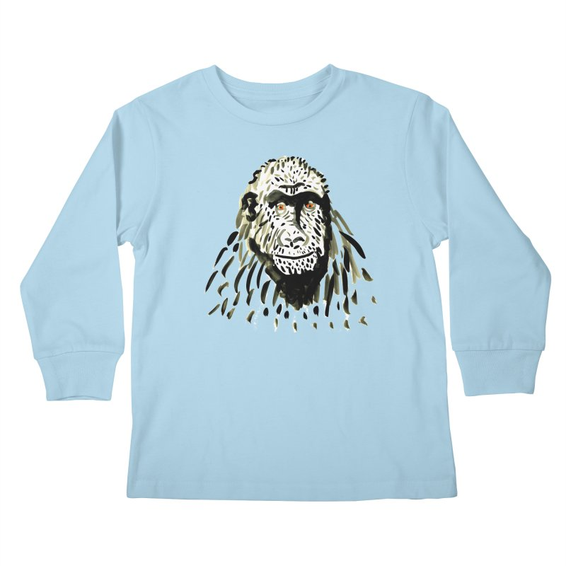 Gorilla Kids Longsleeve T-Shirt by julianepieper's Artist Shop