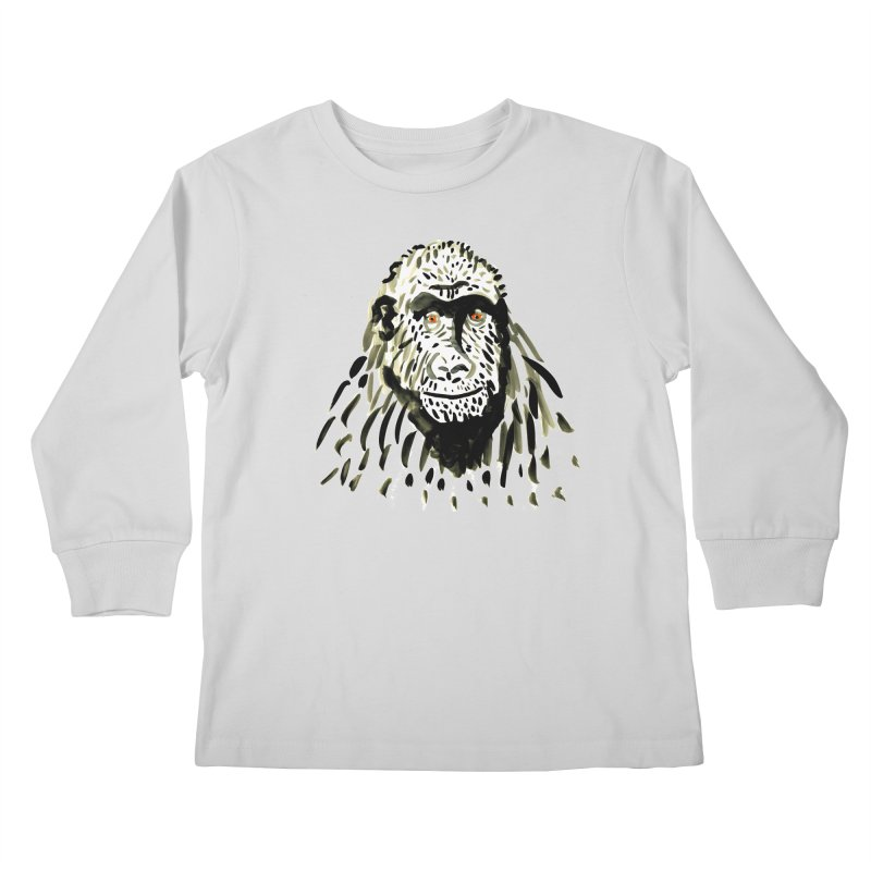 Gorilla Kids Longsleeve T-Shirt by julianepieper's Artist Shop