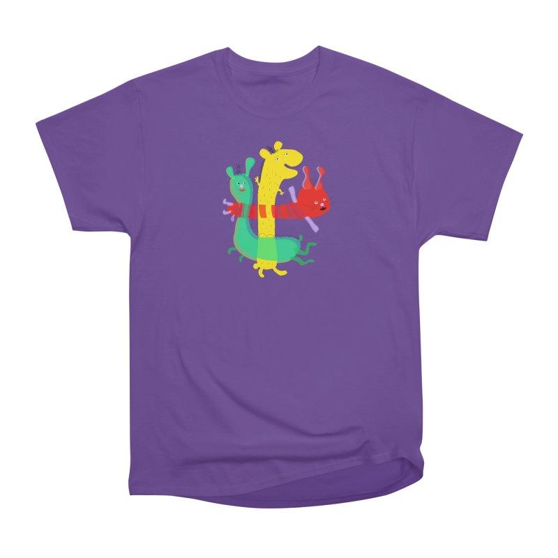 Baby Monster Party Men's Heavyweight T-Shirt by julianepieper's Artist Shop