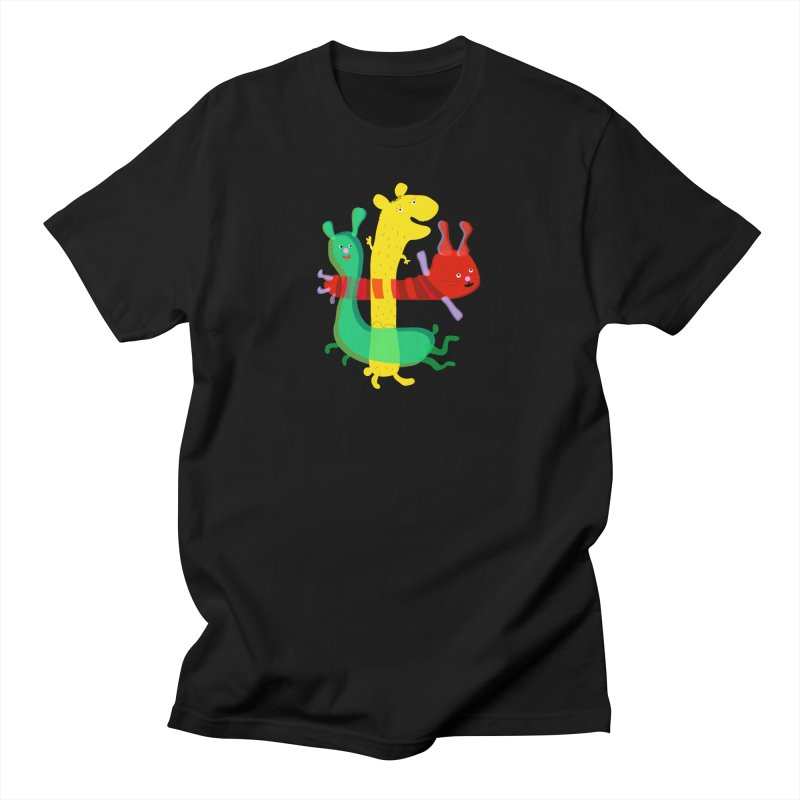 Baby Monster Party Women's Unisex T-Shirt by julianepieper's Artist Shop