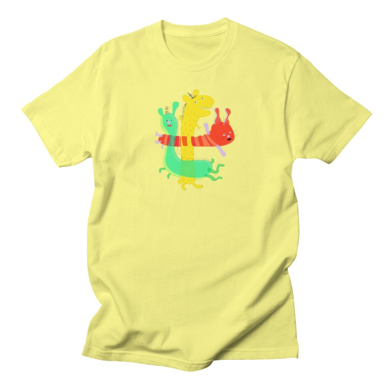 Baby Monster Party Men's T-Shirt by julianepieper's Artist Shop