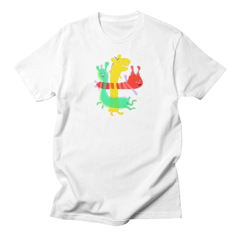 Baby Monster Party Men's T-Shirt by julianepieper's Artist Shop