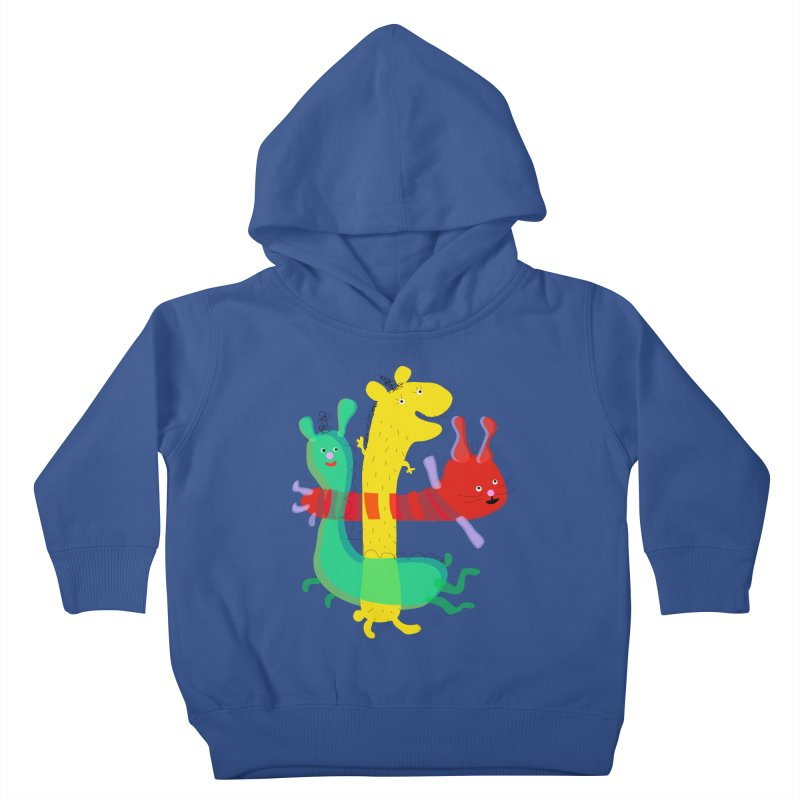 Baby Monster Party Kids Toddler Pullover Hoody by julianepieper's Artist Shop