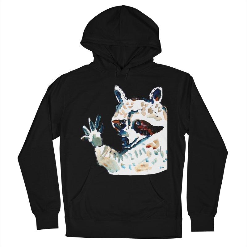 friendly racoon Men's Pullover Hoody by julianepieper's Artist Shop